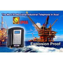 Telefone à prova de explosão para gás de óleo de mina à prova de Atex