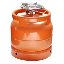 Stahl-Gas-Tank & LPG Gas Zylinder - 6kg (Nigeria)