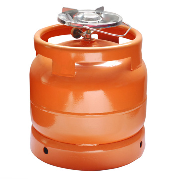 Steel Gas Tank &LPG Gas Cylinder-6kg (to Nigeria)