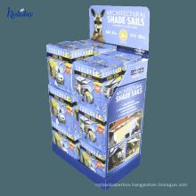 Custom Design Snacks Retail Cabinet Display,Supermarket Foods Advertising Cardboard Display Cabinet
