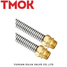 New stainless steel central air conditioning tube/pipe with brass nuts/joint/connector