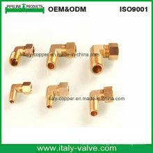 Coude à compression en laiton forgé en laiton égale (IC-9011)