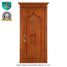 Vereinfachte europäische Art-feste hölzerne Tür für Innenraum (ds-050)