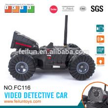 Крутой автомобиль! 4-канальный Iphone & Android контролируемых wifi видео детектив автомобиля rc автомобиль с камерой