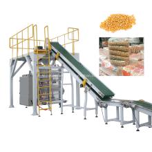 Автоматическая машина для вторичной упаковки семян кукурузы