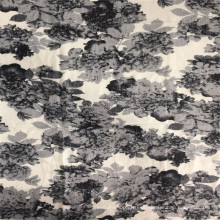 Tecido com estampa floral nano