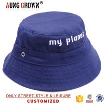 Дешево сделать свой собственный дизайн ковша шляпы хлопок