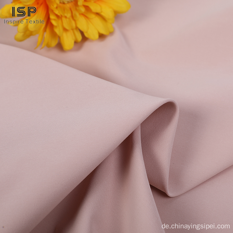 Professionelle Plain Polyester Shirting Baumwollstoffe