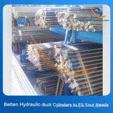 20 # 45 # Acero al carbono Cilindro hidráulico Rod de pistón Cromado