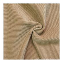 Brand new 9W keep warm 100% cotton dark khaki corduroy fleece fabric for garment trousers jacket coat