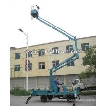 тележка установленный подъем заграждения/ трейлер смонтирован подъемник /подъемник для продажи