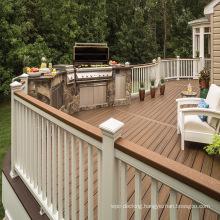 Build Outdoor Garden Backyard Material Deck with Anti-Slip Weather Resistant WPC Wood Plastic Composite Decking Floor