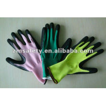 Puncture Resistant Gardening Safety Latex Coated Glove ZMR487