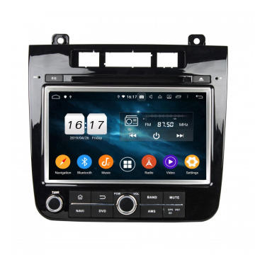 Navigation automatique Android CarPlay pour VW TOUAREG 2010-2014