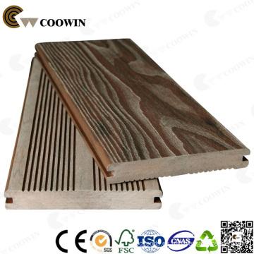 Decking al aire libre WPC / Decking compuesto de madera y plástico / suelo de ingeniería