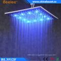 Bathroom 12′′ Luxury High Pressure Waterproof LED Shower Head