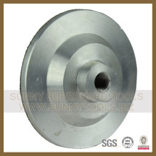 De Bonne Qualité Titulaire de tampon de polissage en aluminium