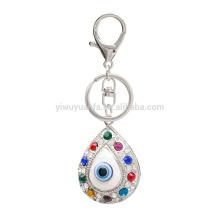 Shiny rhinestone evil eye keychain Fashion Keychain Gift