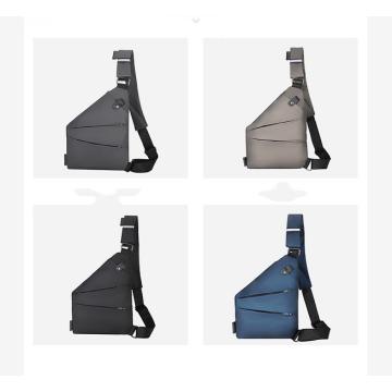 Мужская модная многофункциональная водонепроницаемая нагрудная сумка