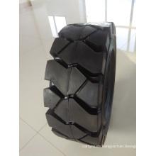 Neumáticos sólidos de alta calidad 18 / 7-8 y 21 * 8-9 con diferentes patrones