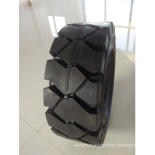 High Quality Solid Tires 18/7-8 and 21*8-9 with Different Patterns