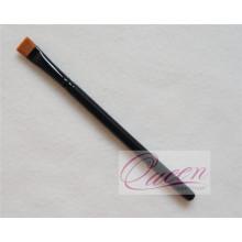 Brosse à maquillage en bois noir Eclaircissement cosmétique