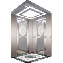 Espelho de aço inoxidável gravura elevador/elevador de passageiros