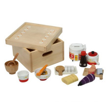 Japanese Style Kids Wooden Picnic Set Toy