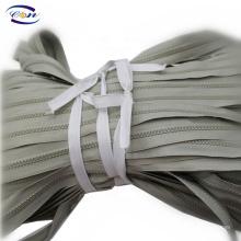 Wholesale jacket sports wear colored plastic zipper roll for garments