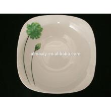 Оптовая фарфоровая миска, квадратная салатная чаша, квадратный суп