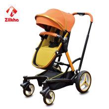 Kinderwagen mit Rahmen und normalem Sitz