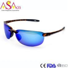 Lunettes de soleil Mirror Tr90 de haute qualité avec protection UV (91065)