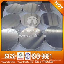 Disque en aluminium laminé à chaud de haute qualité pour l'usine de cuisson