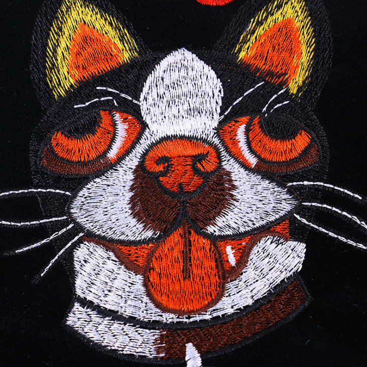 Patches Animal Embroidery