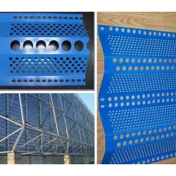 Anti viento y malla de polvo (picos individuales) / Malla de metal perforada