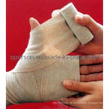 Medizinische Spandex Einfache Elastische Bandage mit CE und ISO genehmigt