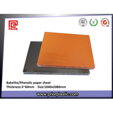Phenolic Paper Insulation Board Bakelite Plate for Jig Fabrication