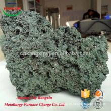 carburo de silicio negro de carburo de silicio verde para ahorrar arrabio