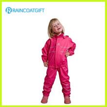 Eco-Friendly Waterproof Kids′ PU Raincoat