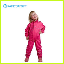 Eco-Friendly Waterproof Kids′ PU Raincoat
