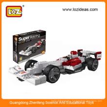 Kids DIY building block toy 3d car block