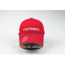 customied logo with more color baseball cap made in china
