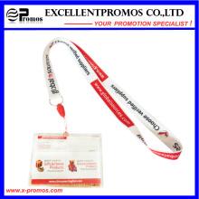 Cordons à cols imprimés personnalisés bon marché avec porte-cartes (EP-Y581415)