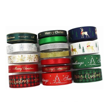 WY228 100% Polyester Wholesale Printed Satin Ribbon