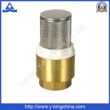 Brass Spring Check Valve with Ss Filter (YD-3003)