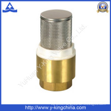 Brass Spring Check Valve with Ss Filter (YD-3003)