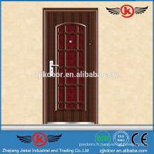JK-S9017 2014 portes d'entrée en acier décoratives à chaud