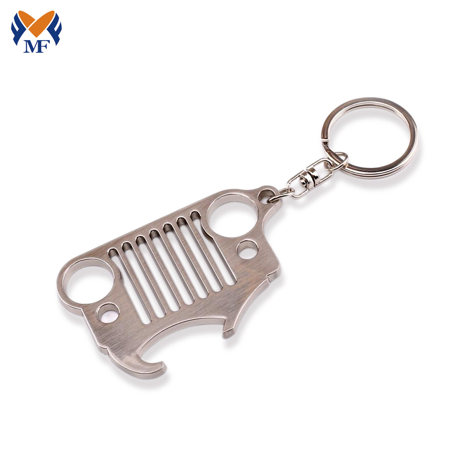 Jeep Bottle Opener Keychain