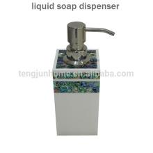 Hot Sale Paua Shell Liquid Hand Soap Dispenser for Bathroom Accessory