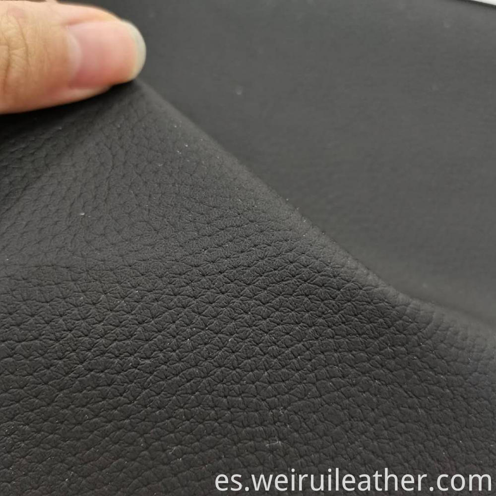 Pvc Leather Sofa Cloth Lychee Lines